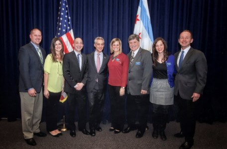 NATM - Chicago with Mayor Emanuel & Ald. Tunney